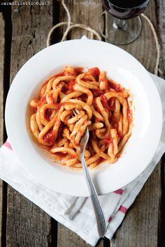 """""""Pici all'aglione"""" di Sara Milletti #toscana #Tuscany italian recipies"""