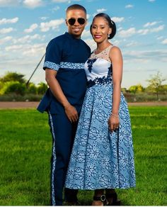 South African Traditional Dresses, Traditional Wedding Dresses, African Wear, African Women, Seshoeshoe Designs, Seshweshwe Dresses, Couples African Outfits, Contemporary Fashion, Ankara