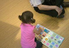 3/06/16 Futuros lectores en el Pabellón Infantil de la FLM16 Foto © Jorge Aparicio/ FLM16