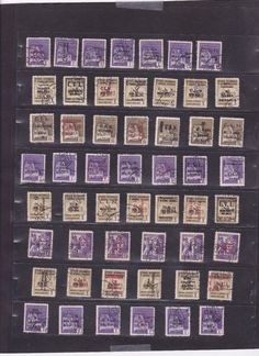 1327 Italy Stamps Used 1944 Post Sociale Repubblica Italiana Great Selection HCV