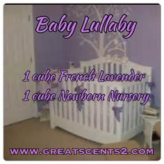 Baby Lullaby Scentsy Recipe
