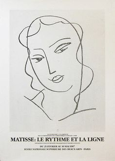 Find the latest shows, biography, and artworks for sale by Henri Matisse. Henri Matisse was a leading figure of Fauvism and, along with Pablo Picasso, one of… Henri Matisse, Matisse Drawing, Matisse Art, Matisse Tattoo, Picasso Paintings, Exhibition Poster, Exhibition Ideas, Exhibition Display, Exhibition Space