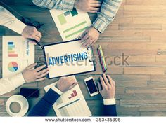 Business Team Concept: ADVERTISING