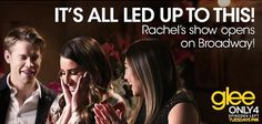 Throwback to Rachel's show Rachel Berry, Lea Michele, Glee, Big Day, Tv Shows, It Cast, Relationship, In This Moment, Songs