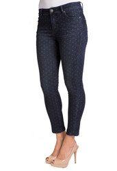 Petite Pin Dot Ankle Skinny Jean, $79 (sizes 0P-16P) (www.thepetiteshop...) Petite Flare Jeans, Petite Skinny Jeans, Petite Shorts, Liverpool Jeans, Curvy Jeans, Linen Pants, White Jeans, Capri Pants, Ankle