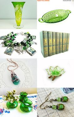 Fresh green gift ideas  by Justyna und Matthias on Etsy--Pinned with TreasuryPin.com
