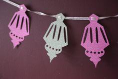 Eid Lantern Eid Decoration Ramadan by MaryamsCraftyCorner on Etsy Eid Crafts, Ramadan Crafts, Crafts For Kids, Paper Crafts, Eid Bunting, Buntings, Diy Eid Decorations, Decoraciones Ramadan, Arabian Party