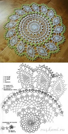 Watch The Video Splendid Crochet a Puff Flower Ideas. Phenomenal Crochet a Puff Flower Ideas. Crochet Tablecloth Pattern, Crochet Doily Patterns, Crochet Mandala, Crochet Diagram, Crochet Art, Crochet Home, Thread Crochet, Filet Crochet, Crochet Motif
