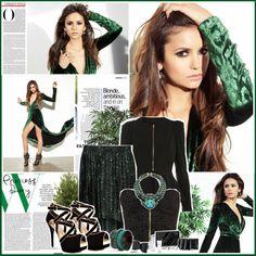 """[806] - Nina Dobrev for Fashion Magazine"" by juuh on Polyvore"