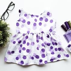 Designed the dress for a 6 months old along with a hairband and pants. This is come so lovely! Love to sew for babies.