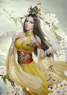 f Sorcerer Robes Belt Asian Faction Village Garden farmland Hills lg Fantasy Art Women, Beautiful Fantasy Art, Fantasy Images, Beautiful Anime Girl, Fantasy Girl, Fantasy Artwork, Chica Fantasy, Anime Fantasy, Akali League Of Legends