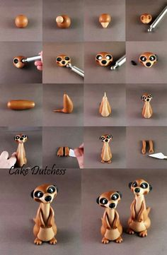 Meerkat Picture Tutorial - For all your cake decorating supplies, please visit craftcompany.co.uk
