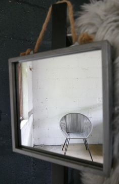 These silver zinc Mirror Design are effective when it comes to creating light in dark spaces. because they are a smaller mirror it is easy to layer them up. Dark Backgrounds, Small Mirrors, Zinc, Wall, Home Decor, Hanging, Light, Mirror Wall, Mirror