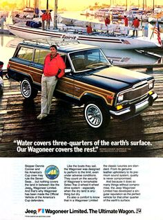 Vintage Jeep Grand Wagoneer Ad http://www.tallahasseedcj.com/new-inventory/index.htm?reset=InventoryListing=Jeep