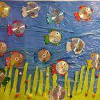 cd fish bulletin board idea | Crafts and Worksheets for Preschool,Toddler and Kindergarten