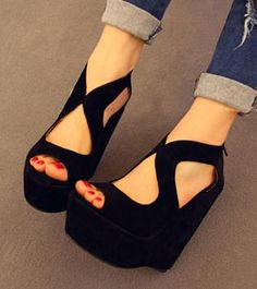Chunky summer wedges making my life