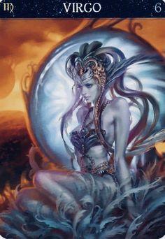 Fantasy Art Warrior, Barbara Moore, Sphinx, Deck Of Cards, Card Deck, Virgo, Booklet, Artsy, Princess Zelda