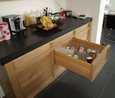 Amazing Houten laden houten voorraadladen houten bestekladen houten indelingen houten keukenaccessoires
