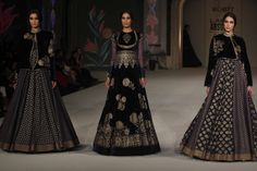 Designer Rohit Bal's collection at Lakme Fashion Week 2016 finale