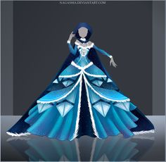 Giveaway/Raffle: Frozen Night Outfit #2 OPEN by Nagashia.deviantart.com on @DeviantArt