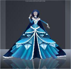 Giveaway/Raffle: Frozen Night Outfit #2 OPEN by Nagashia.deviantart.com on @DeviantArt