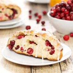 Fresh Cranberry Scones {Sweet Pea's Kitchen}