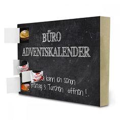 """Adventskalender XXL mit Pralinen von Ferrero """"ADVENTSKALENDER SPRUCH NO. 4"""" Essen & Trinken von SUNLIGHT STUDIOS"""
