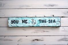 Nautical Wood Sign, Rustic Nautical Decor, Nautical Wall Art, Shabby Chic Nautical Wall Decor, Love Quote Sign by HammerandWine on Etsy https://www.etsy.com/listing/247703095/nautical-wood-sign-rustic-nautical-decor