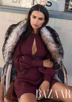 Harper's Bazaar Australia August 2017 Emily Ratajkowski photographed by Pamela Hanson | fashion editorial fashion photography
