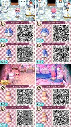 ANIMAL CROSSING NEW LEAF. QR CODE. ACNL. PINNED BY Stephy Sama