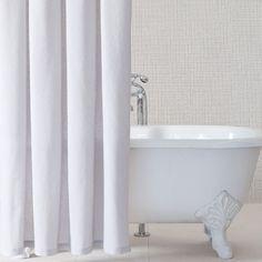 Diamond Matelasse Shower Curtain 84 Inch Length