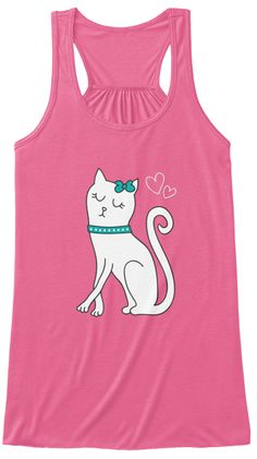 For Cut Girl who like cats - Great shirt - comfy. stylish and fitting :).