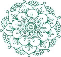 Machine Embroidery Patterns, Hand Embroidery Designs, Beaded Embroidery, Dot Art Painting, Mandala Painting, Small Lotus Tattoo, Barn Quilt Designs, Mandala Art Lesson, Cross Stitch Art