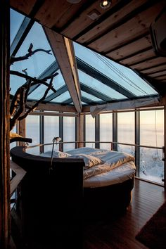#Treehouse bedroom in Finland