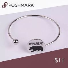 ⭐Sale⭐🐹Mamma Bear🐹 Silver Bangle Bracelet Adorable 🐹Mamma Bear🐹 Silver Bangle Bracelet. Zinc alloy, nickel free. ⭐⭐SALE⭐⭐ 💍For every two pieces of jewelry💍(including phonecases) you will get a third piece of equal or lesser value for FREE! 🎉 Place all your likes in a bundle and I will send you a no commitment offer which will include your free item or free items. They will arrived beautifully packaged. Along with a sincere Thank you from myself.💌 Jewelry Bracelets
