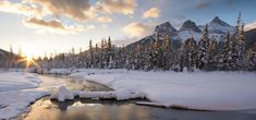 Image result for Canmore Alberta three sisters