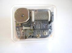 Music Box Lara's Theme Music Box Supplies by oldandnew8 on Etsy, $4.00