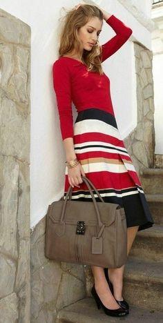 Love this stripes fashion trend