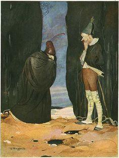 Illustration: Gustaf Tenggren's Grimm's Fairy Tales