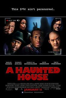 Malcolm and Kisha move into their dream home, but soon learn a demon also resides there. When Kisha becomes possessed, Malcolm - determined to keep his sex life on track - turns to a priest, a psychic, and a team of ghost-busters for help. A Haunted House full movie,