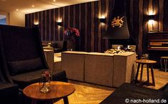 Vor und nach dem Essen kann man in der Lounge noch gemütlich etwas trinken
