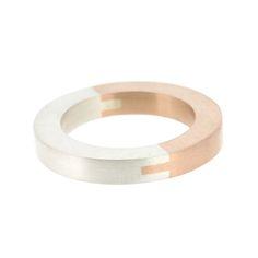 Image of Ring 'Dovetail rose gold'