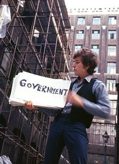 "This week in May of 1967: During filming of what would become the documentary Dont Look Back Bob Dylan gets the idea to make a short film of his single ""Subterranean Homesick Blues,"" featuring him standing in an alley next to London's Savoy Hotel. Featuring nothing but Dylan surrounded by friends Allen Ginsberg and Bob Neuwirth, flipping giant cue cards with the lyrics of the song on them, the clip -- one of the first ""music videos"" -- becomes an iconic rock moment."