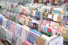 Open Card Shops Around the World, with Slushes and Book Vending Machines
