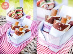 #Playdate  #Snacks #Ideen #Laugenstange #Würstchen #Picknick #picnic #Idea #Pretzel-Dog