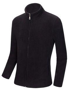 Zip Up Polar Fleece Stand Collar Sweatshirts #women, #men, #hats, #watches, #belts, #fashion, #style