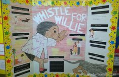 School reading fair projects and examples of reading fair boards for elementary school students. Ideal for first grade and second grade reading fair project boards. Mississippi, Whistle For Willie, Reading Fair, Writers Notebook, Project Board, Fair Projects, Elementary Schools, Lesson Plans, Teaching Resources