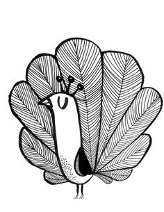 paon2, illustration de Cécile Hudrisier