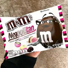 Neapolitan M&Ms - Target M M Candy, Candy Shop, Chocolate Brands, Like Chocolate, Snack Items, Snack Recipes, Snacks, Weird Food, Eating Organic