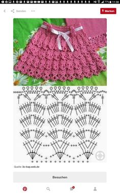 Crochet Patterns Skirt Children skirt with crochet ruffles. The schemes for children to weave fa … Baby Knitting Patterns Skirt I& doing Discover thousands of images about Crochet Layered Shell Stitch Skirt Free Pattern [Video]- Crochet Girls Skirt Free Crochet Skirt Pattern, Crochet Ruffle, Crochet Skirts, Baby Girl Crochet, Crochet Stitches Patterns, Crochet Chart, Baby Knitting Patterns, Knit Crochet, Crochet For Kids